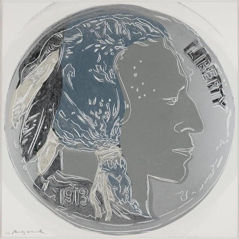 Indian Head Nickel, Andy Warhol - Print by Andy Warhol