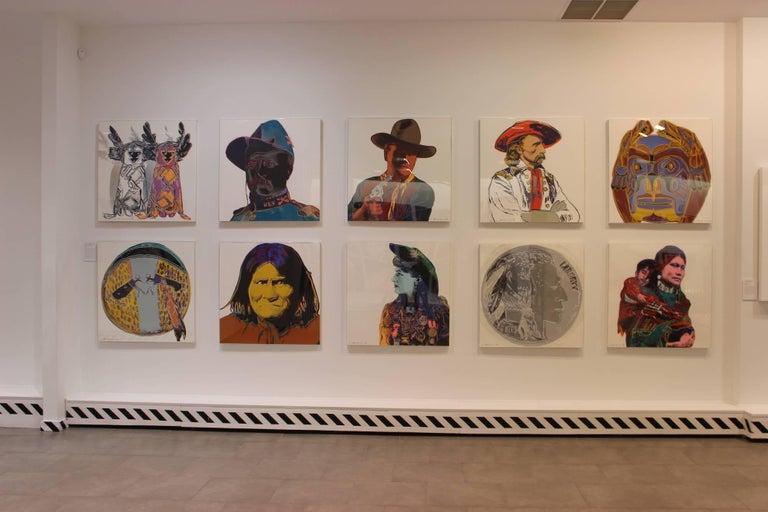 Indian Head Nickel (FS II.385)  - Pop Art Print by Andy Warhol