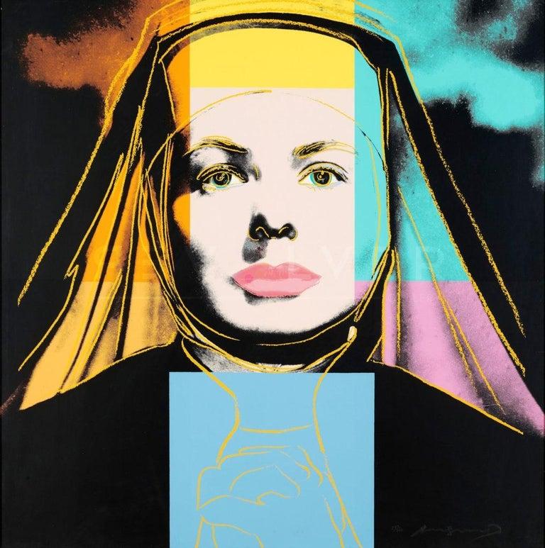 Ingrid Bergman Portfolio (FS II.312-FS II.314) - Print by Andy Warhol