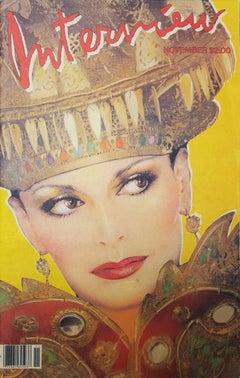 Interview Magazine (Diane von Furstenberg) (Signed by Andy Warhol)
