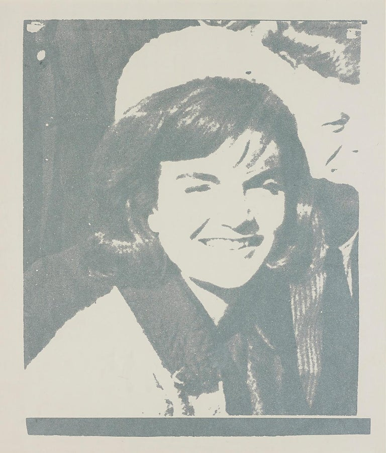 Andy Warhol Portrait Print - Jacqueline Kennedy I (Jackie I) (FS II.13)