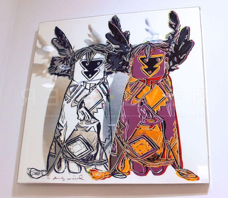Kachina Dolls (FS II.381) - Pop Art Print by Andy Warhol