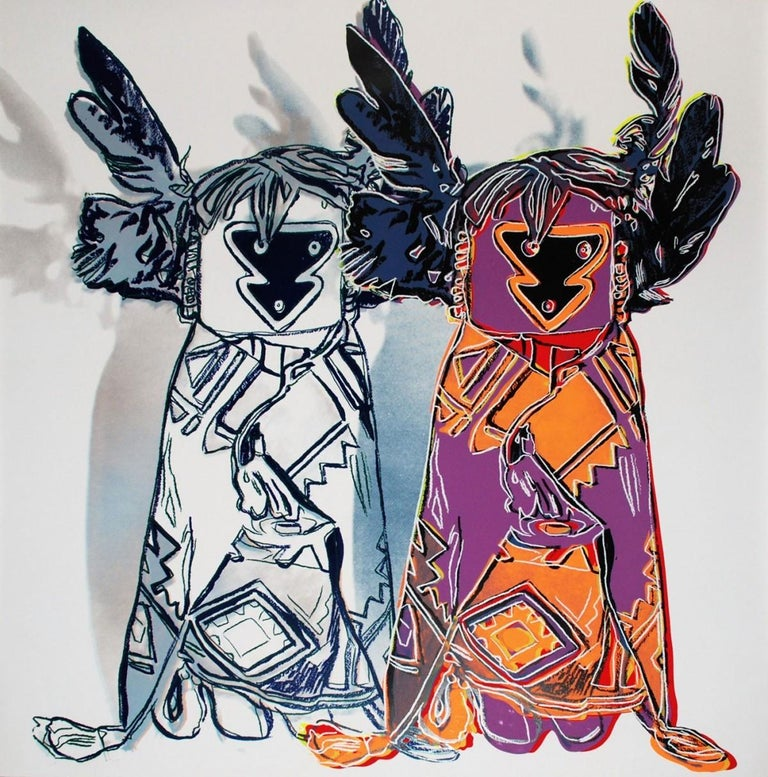 Kachina Dolls (FS II.381) - Print by Andy Warhol