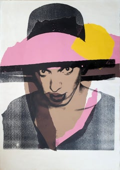 Ladies & Gentlemen : The Pink Hat - Screen Print Handsigned - 125 copies