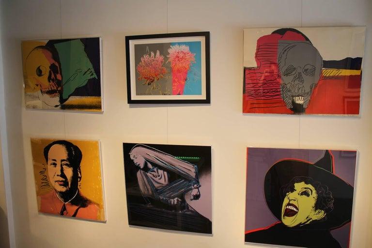 Lamentation (FS II.388) - Black Portrait Print by Andy Warhol