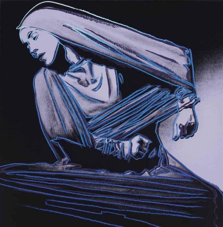 Andy Warhol Portrait Print - Lamentation (FS II.388)