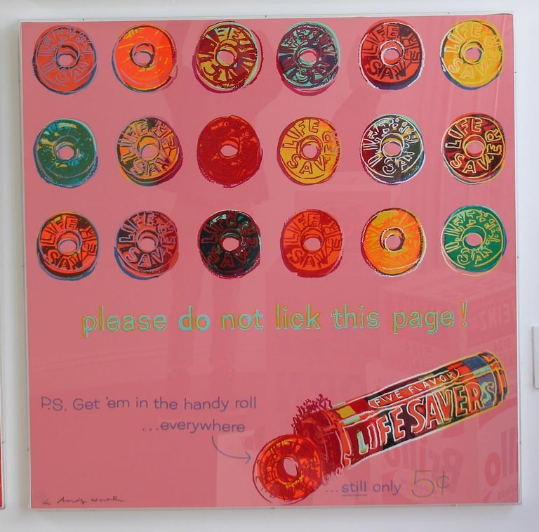 Life Savers (FS II.353) - Pop Art Print by Andy Warhol