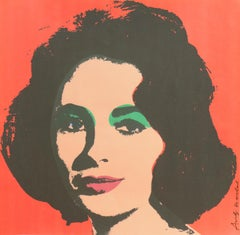 'Liz', Elizabeth Taylor, Hollywood, Pop Art, Chelsea, New York, The Factory
