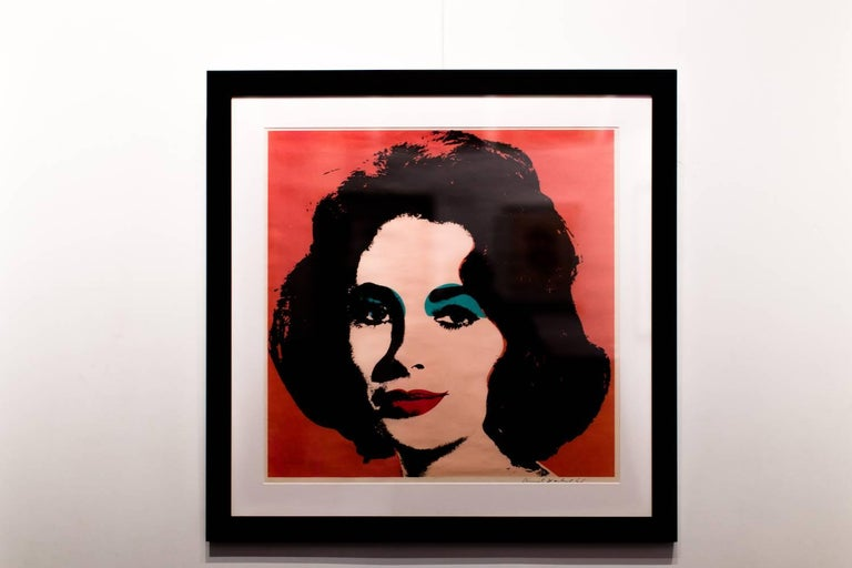 Liz (FS II.7) - Print by Andy Warhol