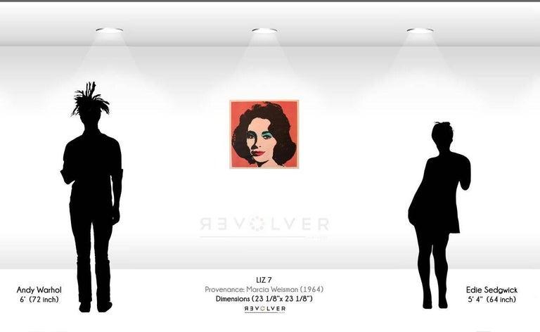 Liz (FS II.7) - Pop Art Print by Andy Warhol