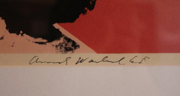 Liz (FS II.7) - Black Print by Andy Warhol
