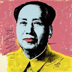 Mao #91, by Andy Warhol