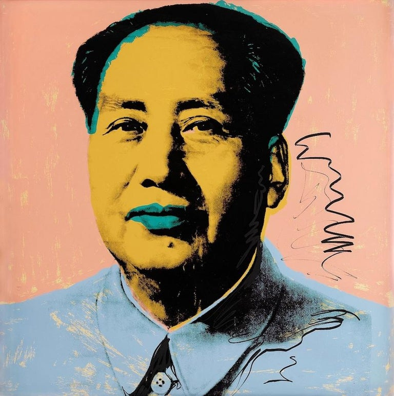 Mao #92, Andy Warhol - Print by Andy Warhol