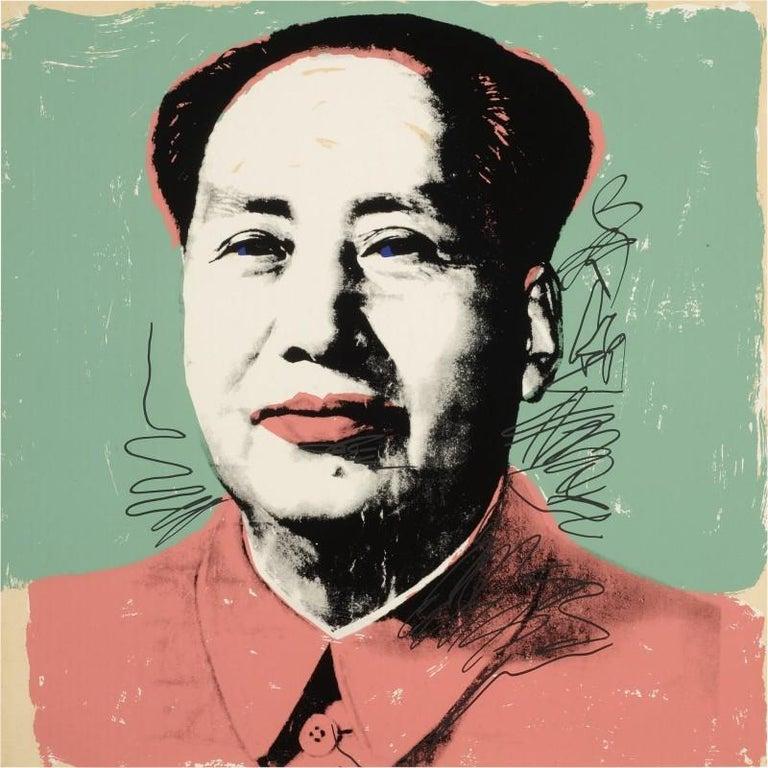 Mao #95, Andy Warhol - Print by Andy Warhol