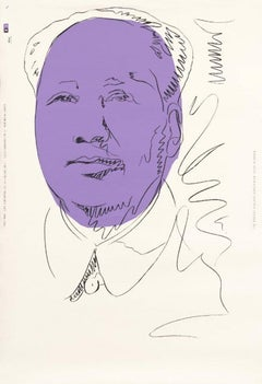 Mao, Andy Warhol - MoMA Retrospective Poster