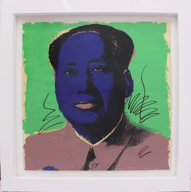 Mao (FS II.90) - Pop Art Print by Andy Warhol