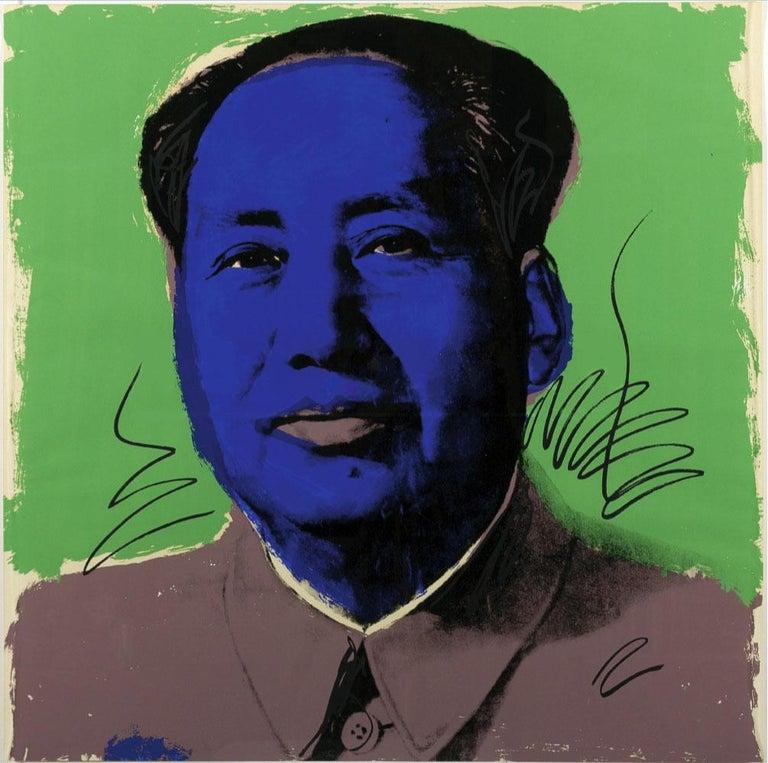 Mao (FS II.90) - Print by Andy Warhol