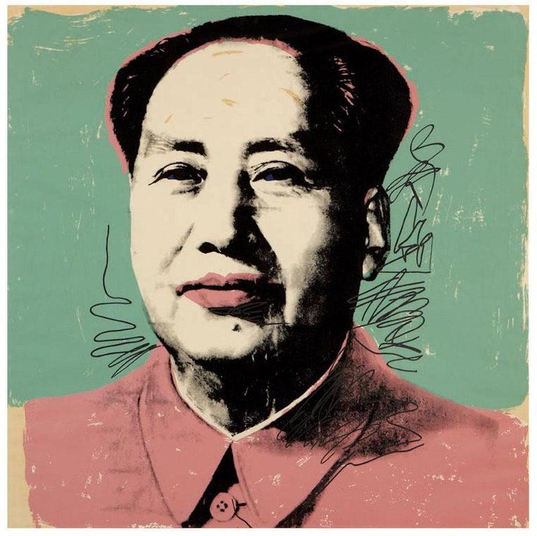Mao (FS II.95) - Print by Andy Warhol