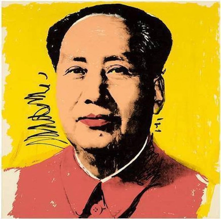 Andy Warhol Figurative Print - Mao, II.97