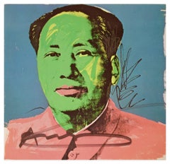 Mao Tse-Tung -  Scree Print by A. Warhol - 1972
