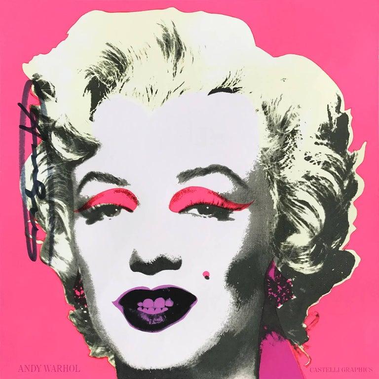 Marilyn (Castelli Gallery Invitation)