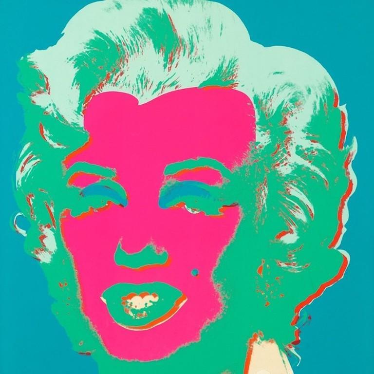 Andy Warhol Figurative Print - Marilyn Monroe (FS II.30)