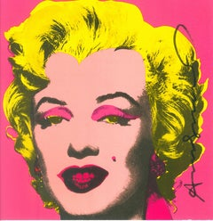 Marilyn Monroe Invitation Card -  Screen Print Castelli Gallery - 1981