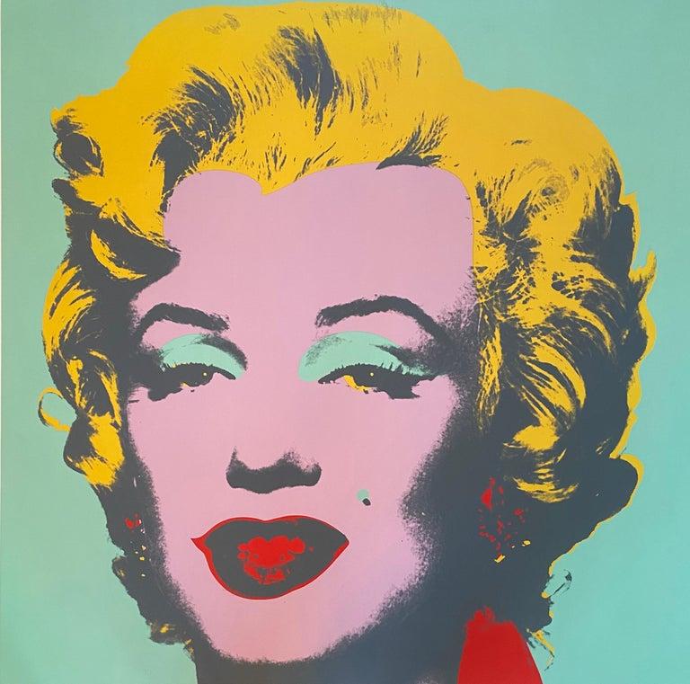 Andy Warhol Portrait Print - Marilyn Monroe (Marilyn) F&S II.23