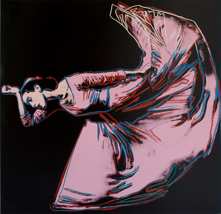 Martha Graham, Letter to the World (The Kick) (FS II.389) - Print by Andy Warhol