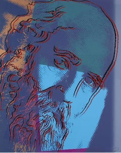Martin Buber 228 by Andy Warhol