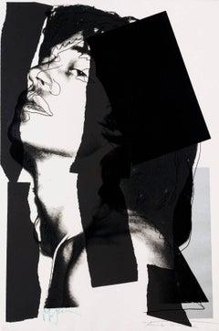 Mick Jagger 144 by Andy Warhol