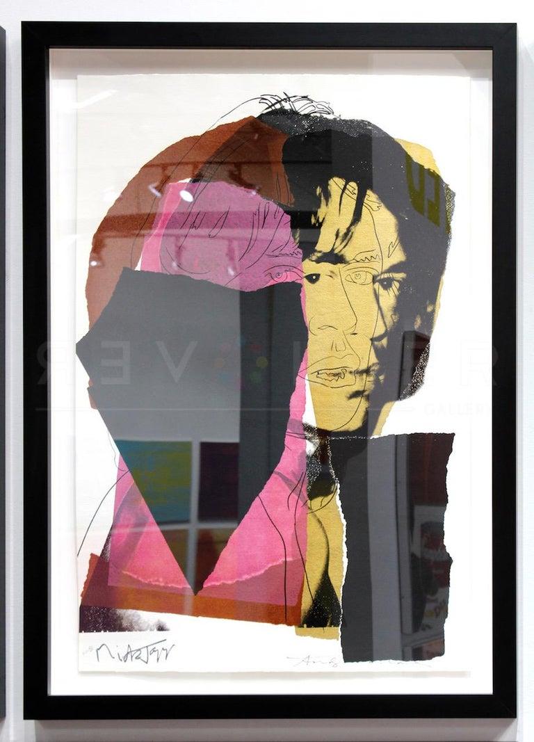 Mick Jagger (FS II.139) - Pop Art Print by Andy Warhol