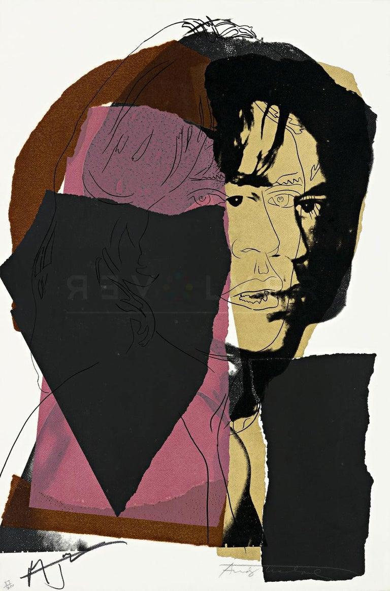 Mick Jagger (FS II.139) - Print by Andy Warhol