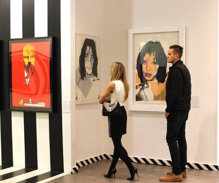 Mick Jagger (FS II.141)  - Print by Andy Warhol