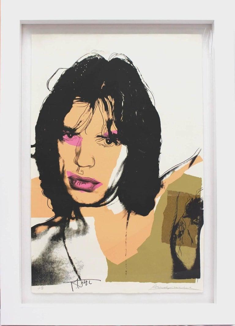 Mick Jagger (FS II.141)  - Pop Art Print by Andy Warhol