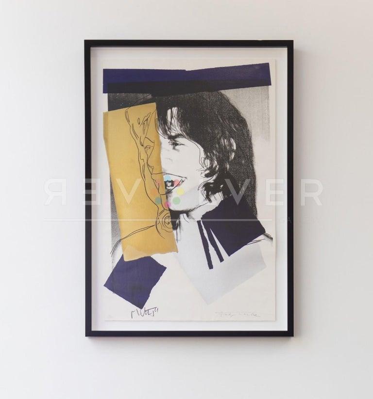 Mick Jagger (FS II.142) - Pop Art Print by Andy Warhol