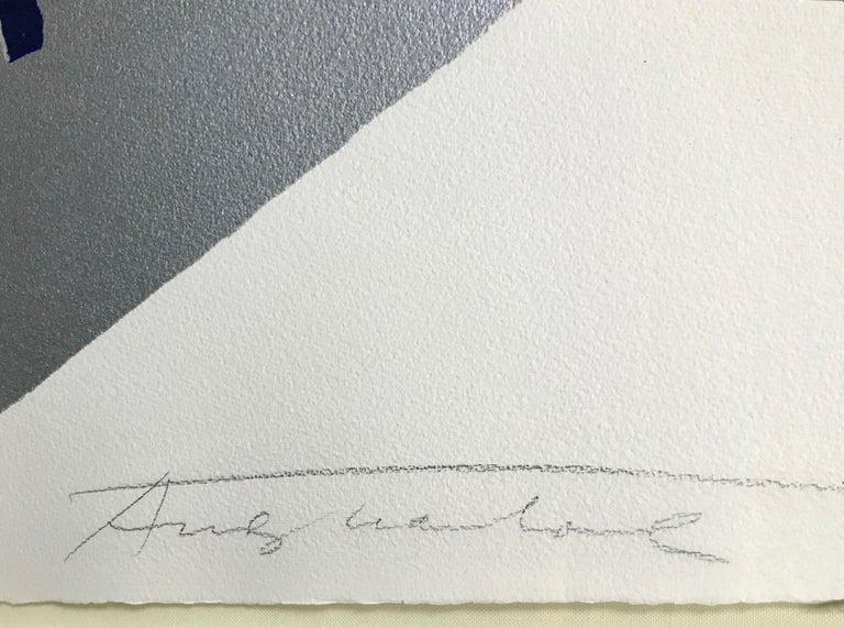MICK JAGGER FS II.142 - Beige Portrait Print by Andy Warhol