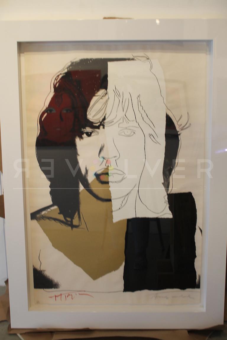 Mick Jagger (FS II.146) - Print by Andy Warhol