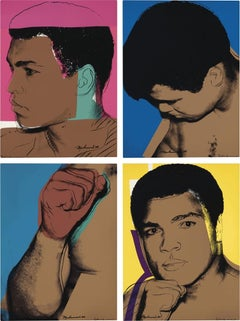 Muhammad Ali, Andy Warhol