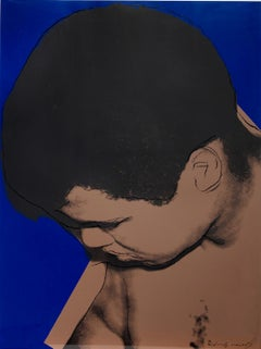 Muhammad Ali - Andy Warhol, Pop Art, Print, Screenprint, Portrait, Contemporary