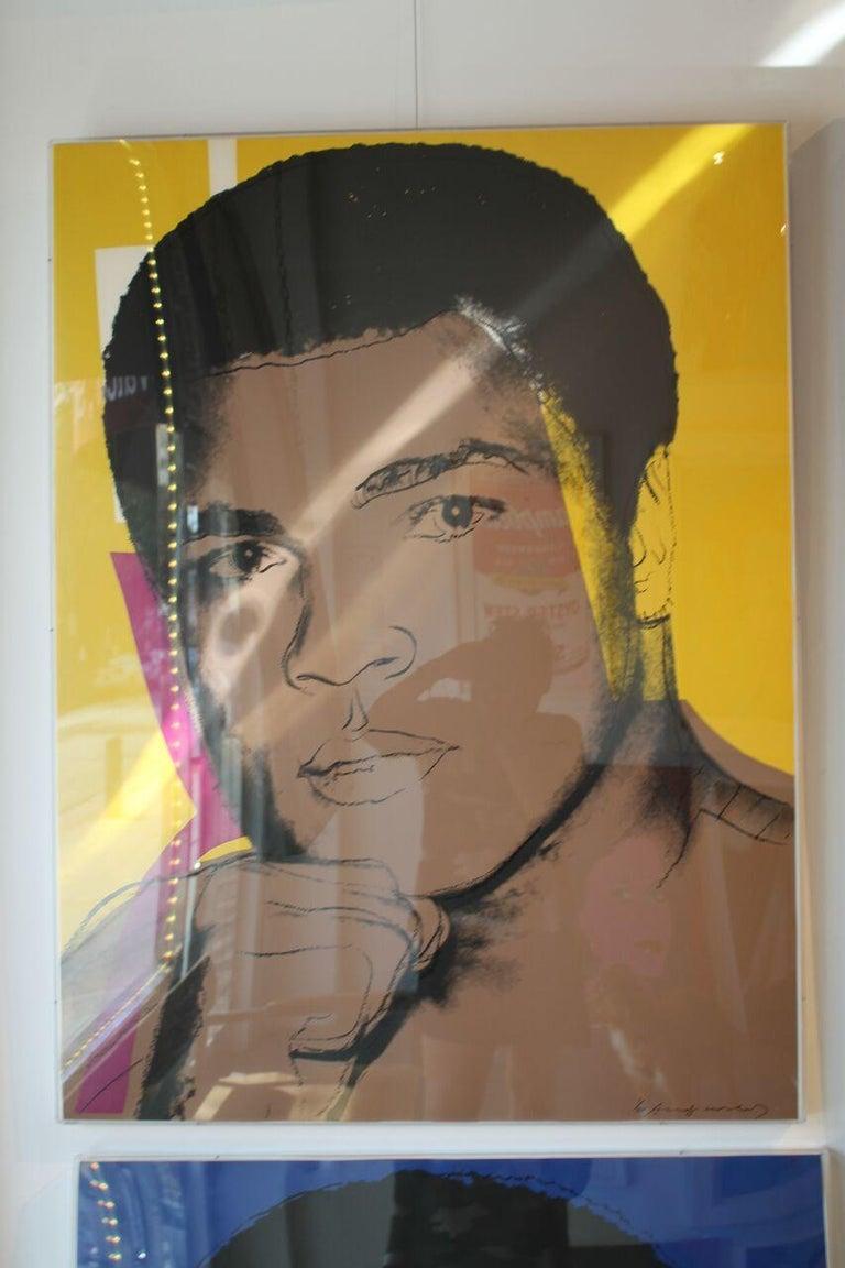 Muhammad Ali (FS II.182) - Print by Andy Warhol