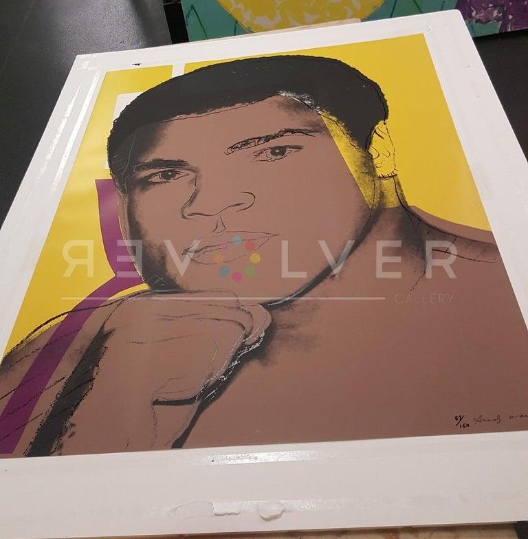 Muhammad Ali (FS II.182) - Pop Art Print by Andy Warhol