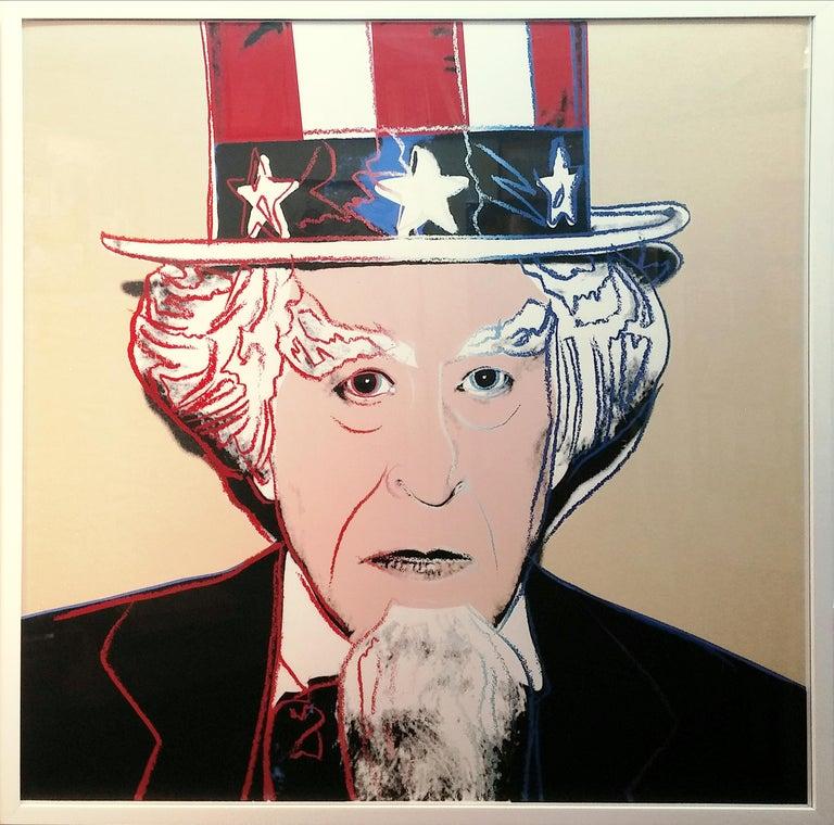 MYTHS: UNCLE SAM FS II.259 - Print by Andy Warhol
