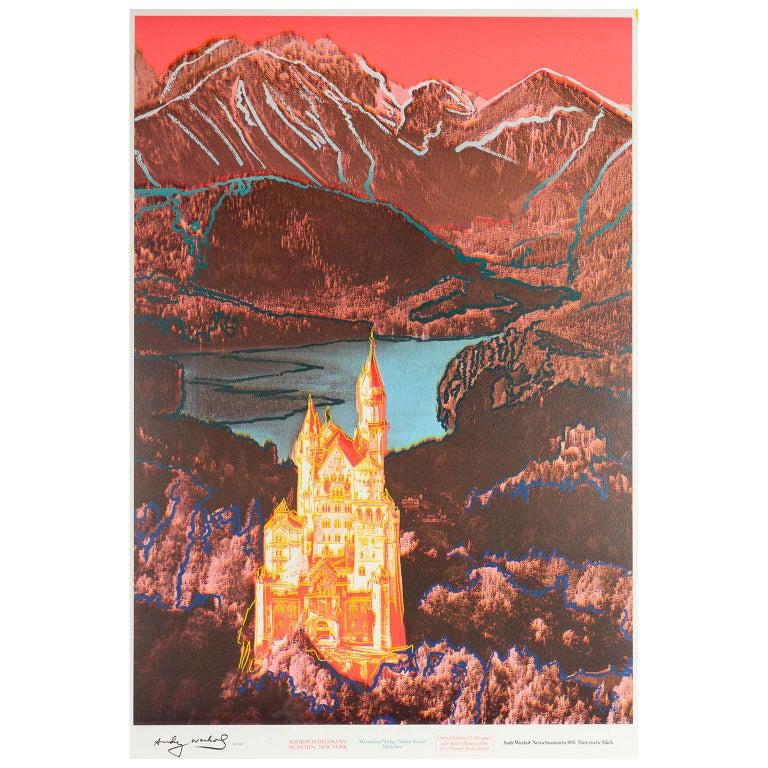 Neuschwanstein - Print by Andy Warhol