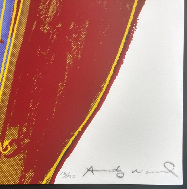 NORTHWEST COAST MASK FS II.380 - Print by Andy Warhol