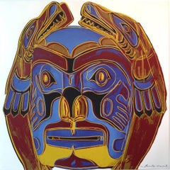 Northwest Coast Mask FS II.380, from Cowboys and Indians