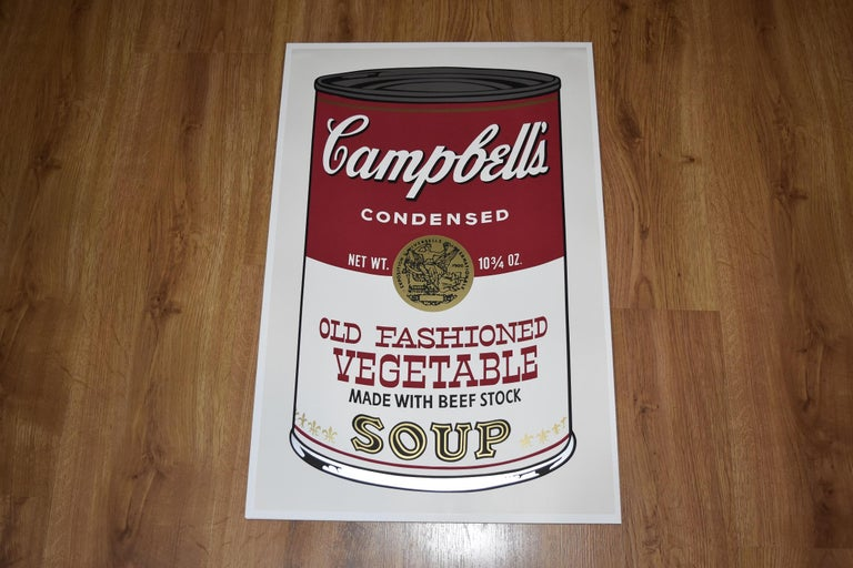 Old Fashioned Vegetable FS II.54 - Print by Andy Warhol