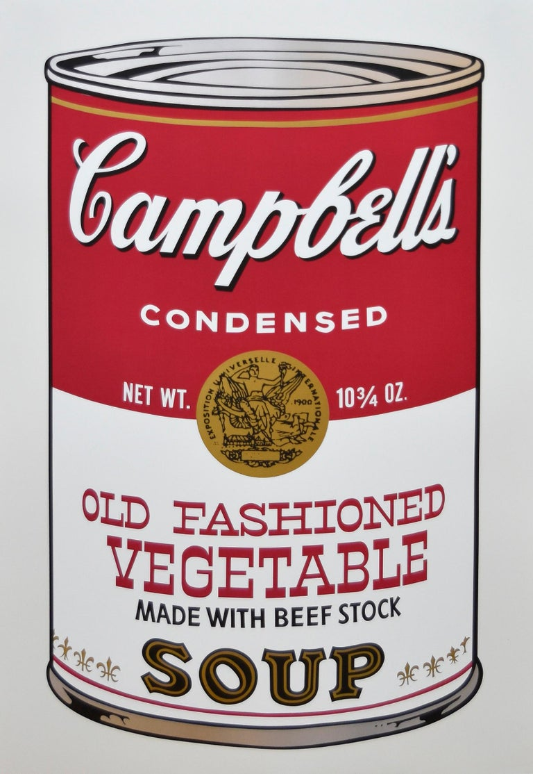 Andy Warhol Abstract Print - Old Fashioned Vegetable FS II.54