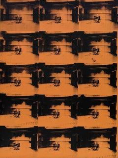 Orange Disaster #5 - 15 Orange Electric Chairs