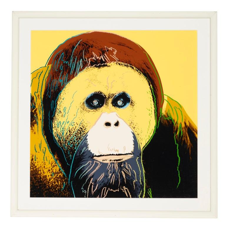 Orangutan, Endangered Species F&S II.299 - Print by Andy Warhol